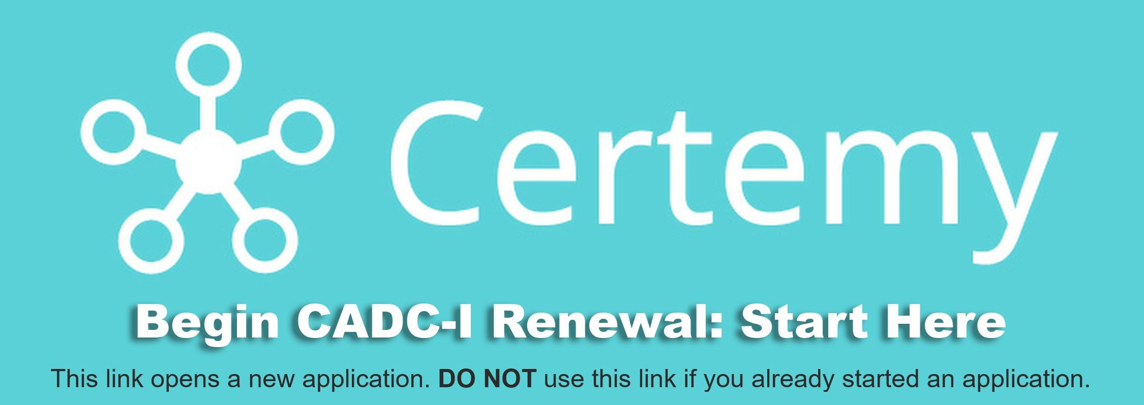 Cadc I Cadc I Ca Renewals Ccapp Credentialing